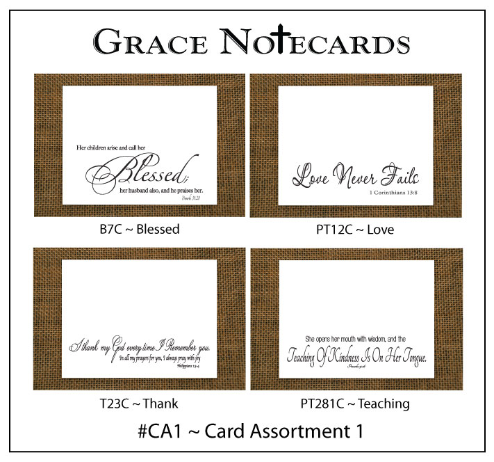 #CA1 Grace Notecard Assortment #CA1