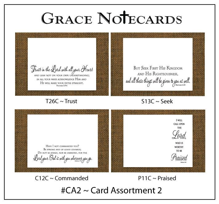 Grace Notecard Assortment #CA2