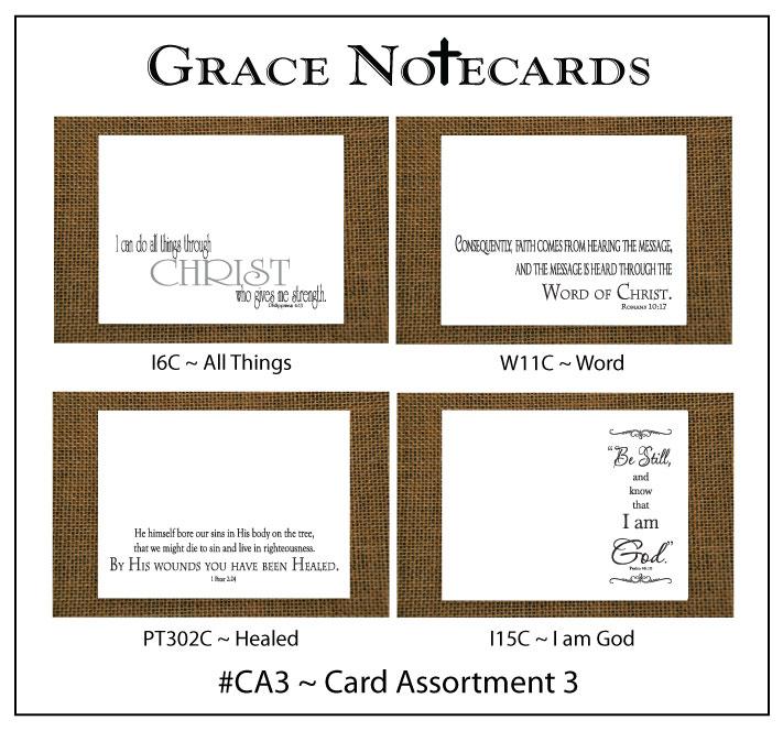 Grace Notecard Assortment #CA3