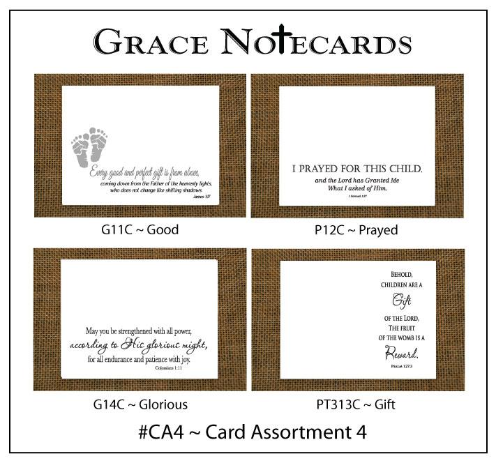 Grace Notecard Assortment #CA4