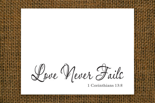 Love - Grace Notecard