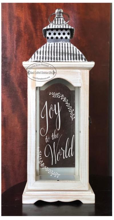 Lantern 15 Joy to the World