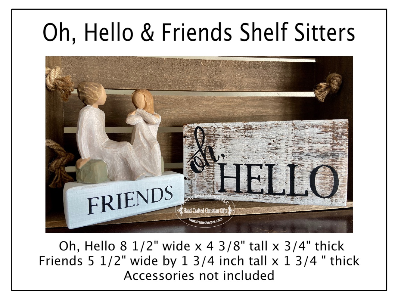 Oh, Hello and Friends Shelf Sitter Group
