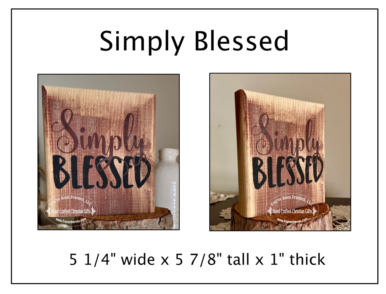 Simply Blessed Shelf Sitter