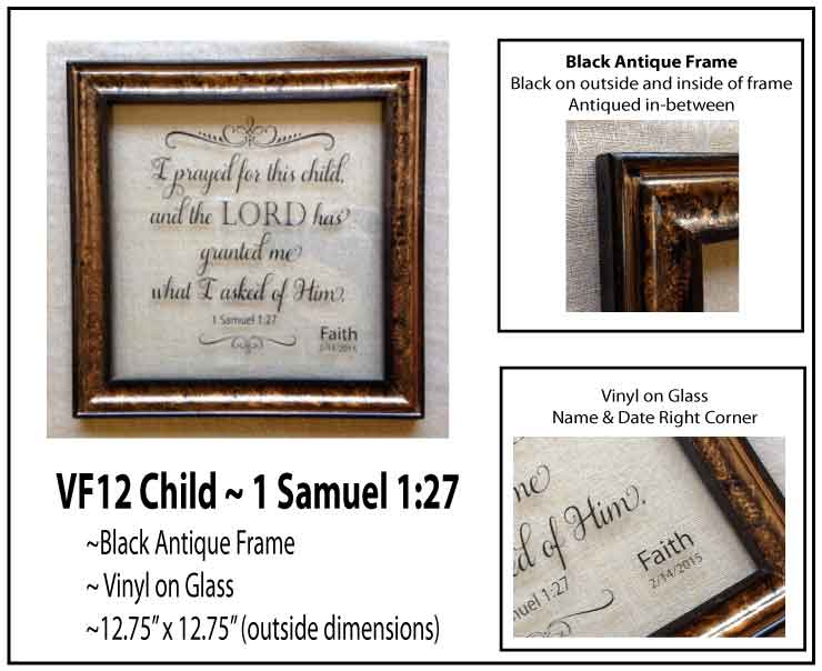 #VF12 Child - 1 Samuel 127