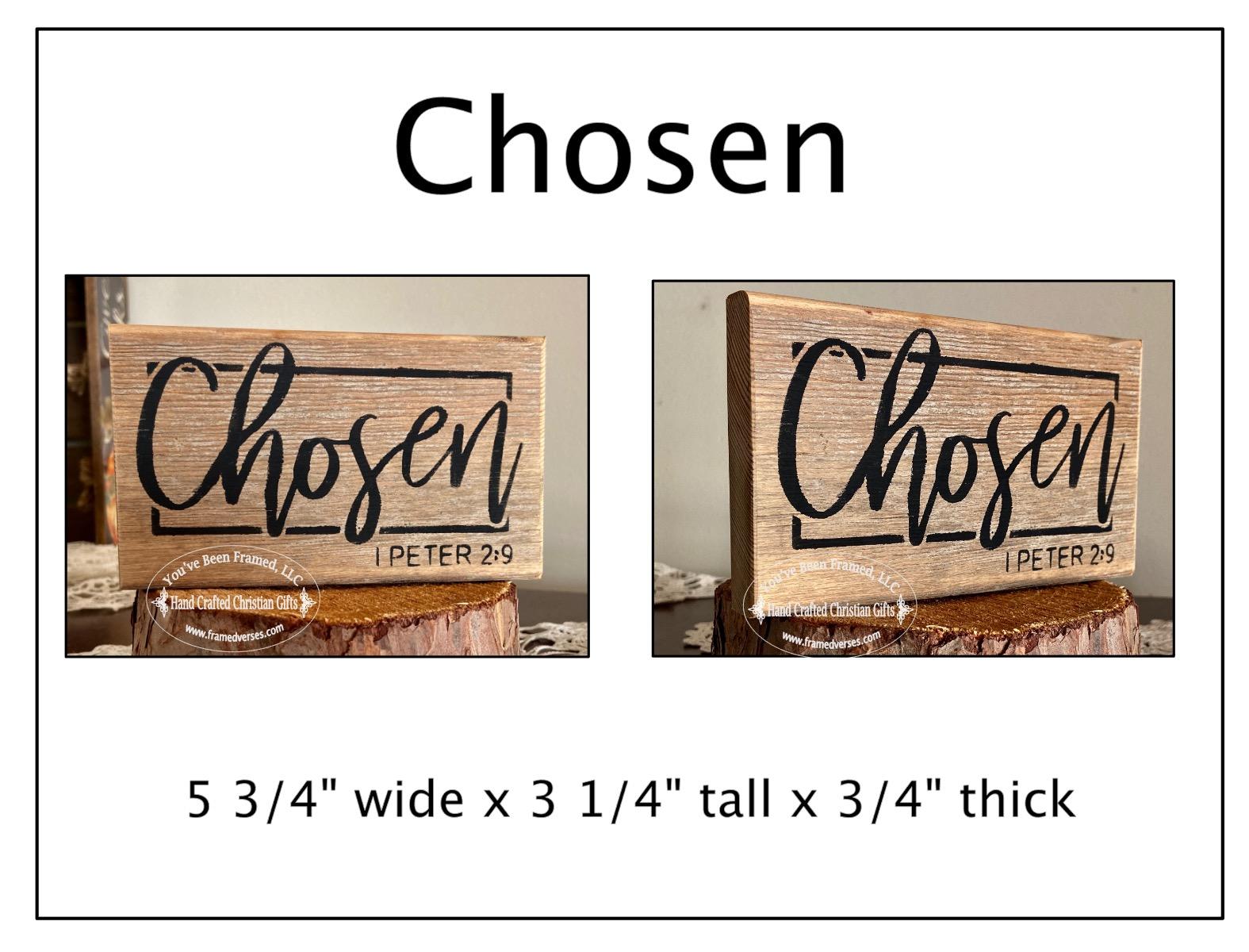Chosen Reclaimed Wood Shelf Sitter