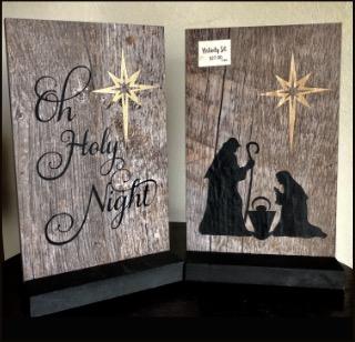 Tiles Nativity Set